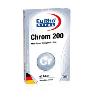 EuRho Vital Chrom 200 90 Tablet
