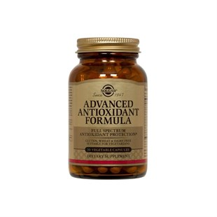 Solgar Advanced Antioxidant Formula 30 Kapsül
