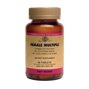 Solgar Female Multiple 60 Tablet